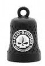 Harley-Davidson ® /Mod ®  Black Ride Bell ®  Chrome Logo/Willie G.  FREE SHIPPING  - Product Image