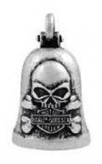 Ride Bell  Harley-Davidson®  Matte Skull Ride  By Mod ®  FREE SHIPPING - Product Image