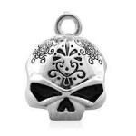 RIDE BELL  Harley-Davidson ®  Tribal Willie G Skull  By Mod ®  FREE SHIPPING - Product Image