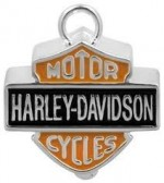 MOTORCYCLE  RIDE BELL  Harley-Davidson ®  Colored Logo  FREE SHIPPING - Product Image
