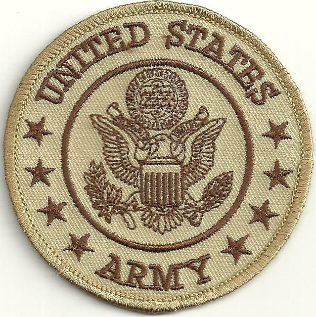 """United States Army  Military Patch  3"""" x 3""""  FREE SHIPPING - Product Image"""