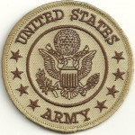"United States Army  Military Patch  3"" x 3""  FREE SHIPPING - Product Image"