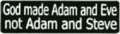 God made Adam and Eve not Adam and Steve - Product Image