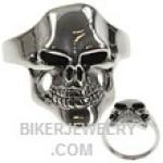 Stainless Steel  Joker  Biker Skull Ring  Sizes 9-15  FREE SHIPPING - Product Image