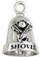 Shovel Head  Sterling Silver  Motorcycle Ride Bell ® - Product Image