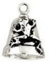 Frog  Motorcycle Ride Bell ®  Sterling Silver - Product Image