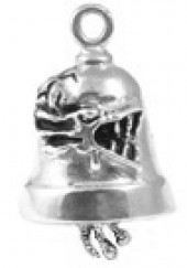 Dragon 2 Ride Bell ® sterling Silver - Product Image