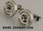 Bullet Earrings  Men or Women  Stainless Steel  FREE SHIPPING - Product Image