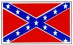 "CONFEDERATE FLAG 2"" x 3"" - Product Image"