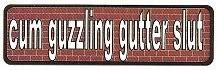 cum guzzling gutter slut - Product Image