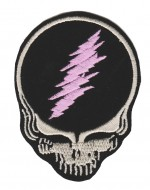"Grateful DeadBiker Patch2 1/2 "" x 3 1/4 ""FREE SHIPPING - Product Image"