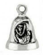 Grim Reaper Sterling Silver Ride Bell ® - Product Image