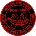 HONOR THE DEAD /POW/MIA/ FIGHT LIKE HELL FOR THE LIVING - Product Image