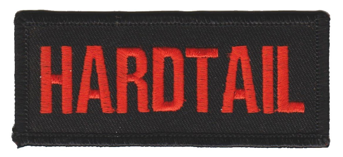 """HardtailBiker Patch3 3/4 """" x 1 1/2 """"FREE SHIPPING - Product Image"""