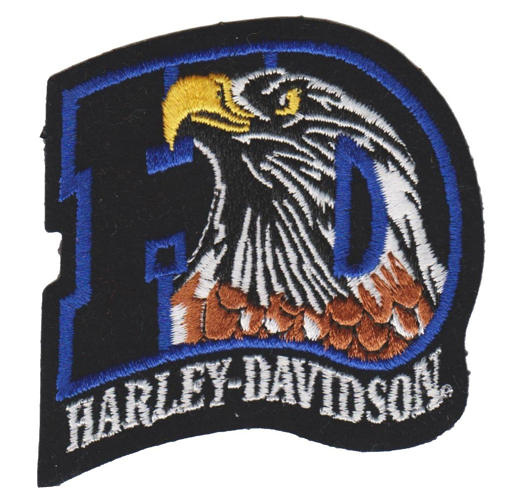 """Harley-Davidson ® / HD EagleHarley ®  Patch3 1/4 """" x 3 1/4 """"FREE SHIPPING - Product Image"""