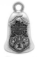 POLICE  Ride Bell  Harley Davidson ®  FREE SHIPPING - Product Image