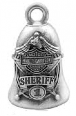 SHERIFF  Ride Bell  Harley Davidson ®  FREE SHIPPING - Product Image