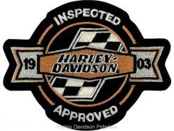 """Harley Davidson ® 1903Harley ®  Patch5"""" x 4""""FREE SHIPPING - Product Image"""