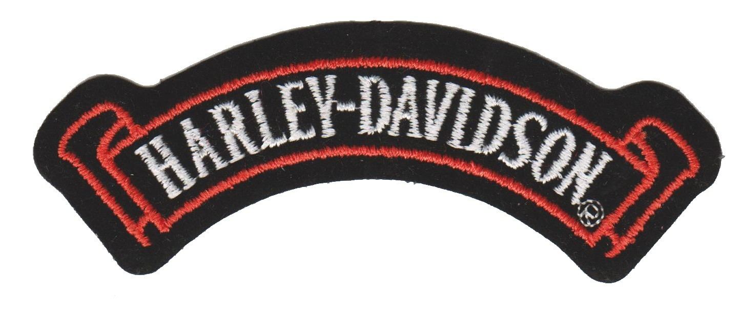 "Harley-Davidson ® Banner Harley ® Patch4 1/2 "" x 1 1/2 ""FREE SHIPPING - Product Image"