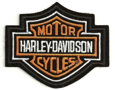 Harley-Davidson ®Bar & Shield LogoHarley ® PatchAvailable in 3 SizesFREE SHIPPING - Product Image