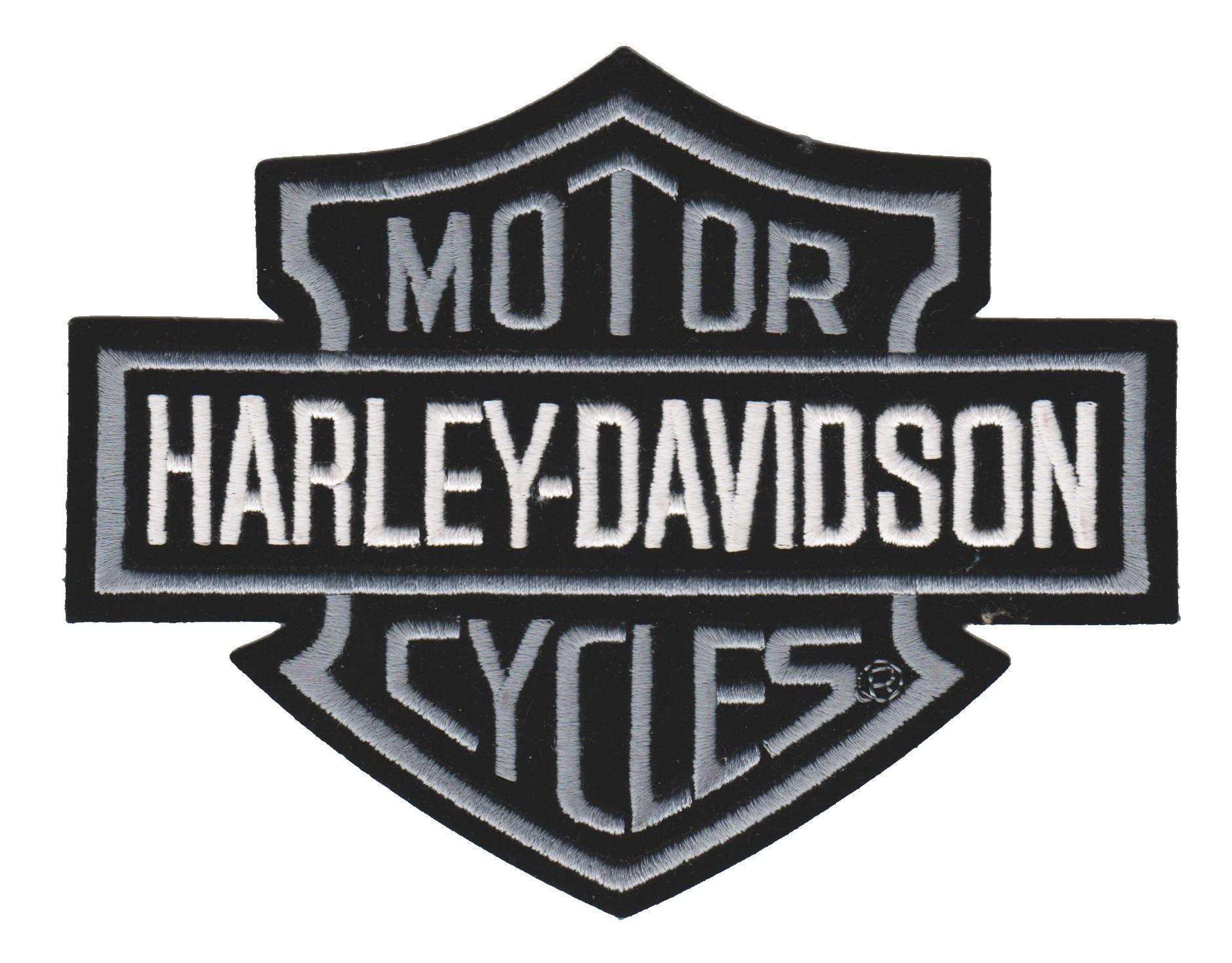 Harley Davidson 174 Gray Bar Amp Shield Harley 174 Patch