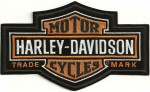 Harley-Davidson ® Logo Bar & Shield with Trade Mark Harley ® PatchAvailable in 2 SizesFREE SHIPPING - Product Image