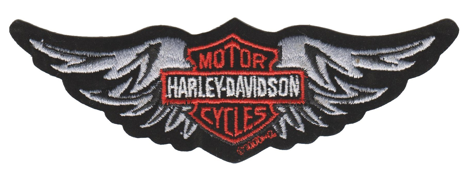 Harley-Davidson ® Logo / Wings Harley ® PatchAvailable in 2 SizesFREE SHIPPING - Product Image