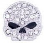 MILESTONE  RIDE LOCKET CHARM  Harley-Davidson ®  Mod Jewelry ®  Bling Skull  - Product Image