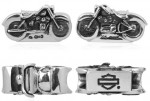 RIDE BEAD  Harley Davidson ®  by Mod ®  Motorcycle  Sterling Silver  Does fit Pandora  ® - Product Image