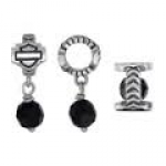 RIDE BEAD  Harley Davidson ® Mod ®   Sterling Silver  Spacer Ride Bead  Does fit Pandora  ® - Product Image