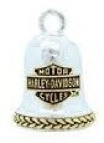Harley Davidson ®/Mod ®  Two- Tone Bar and Shield Logo  Ride Bell ®  FREE SHIPPING - Product Image