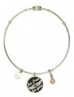 "Harley-Davidson ®/Mod's®  ""Be Free Be You""Ladies Legends  Charm Bracelet  Stainless Steel  - Product Image"