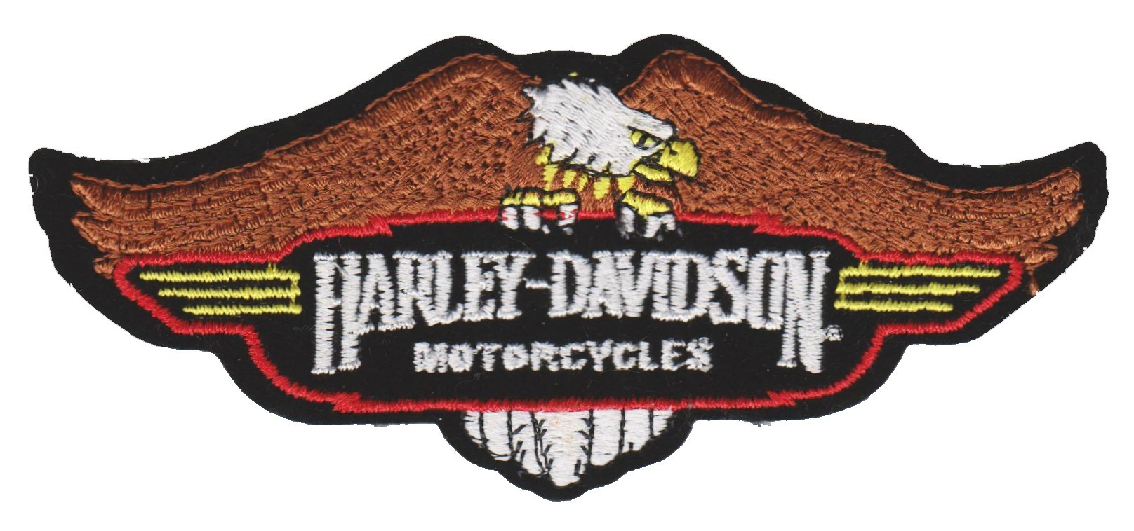 "Harley-Davidson ® Perched EagleHarley ® Patch5 1/4 "" x 2 1/4 ""FREE SHIPPING - Product Image"