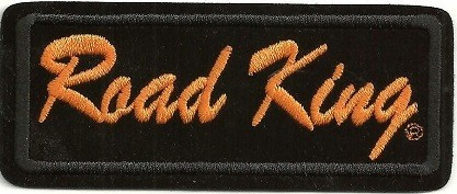 "Harley-Davidson ® Road KingHarley ® Patch2"" x 4""FREE SHIPPING - Product Image"