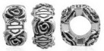 Does fit Pandora  ®  Harley Davidson ®  Rose Ride Bead by MOD ®  in Sterling Silver - Product Image
