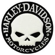 Harley-Davidson ® Willie G  Willie G. Skull Patch4 Inches Round FREE SHIPPING - Product Image