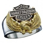 CLOSE OUT PRICE  Harley-Davidson ® Wings of Freedom Ring - Product Image