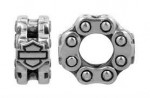Harley Davidson ®/Mod ®  Sterling Silver  Bike Chain Ride Bead  Does fit Pandora  ® - Product Image