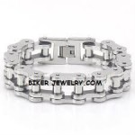 Heavy 316L Stainless Steel Biker Chain  Bracelet  FREE SHIPPING - Product Image