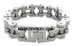 Huge Biker Chain Bracelet  3 Sizes  FREE SHIPPING - Product Image
