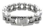 Huge Biker Chain Bracelet  3 Sizes  FREE SHIPPING - Product Image