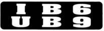 IB6 UB9 - Product Image