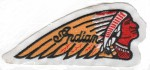 "IndianMotorcycle Biker Patch4 1/2 "" x 2""FREE SHIPPING - Product Image"