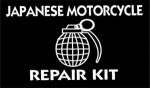 "JAPANESE MOTORCYCLE REPAIR KIT (GRENADE)4"" x 3"" - Product Image"
