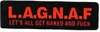 L.A.G.N.A.F. LET'S ALL GET NAKED AND FUCK - Product Image