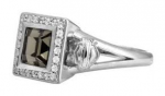Women's   Harley-Davidson ®  Black Ice Ring  by Mod ®  Available in Sizes 5-9 - Product Image