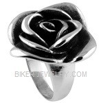 Ladies  Stainless Steel  Rose Ring  Sizes 6-10  FREE SHIPPING - Product Image