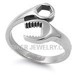 Women's  Stainless Steel  Wrench Ring  Sizes 5-10  FREE SHIPPING - Product Image