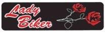 Lady Biker (Roses) - Product Image