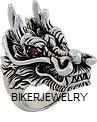 Huge Dragon Head  Stainless Steel Ring  Sizes 10-15  FREE SHIPPING - Product Image